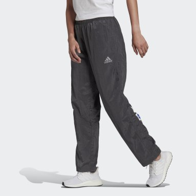 Women Sportswear Grey adidas Sportswear Relaxed Straight Pants