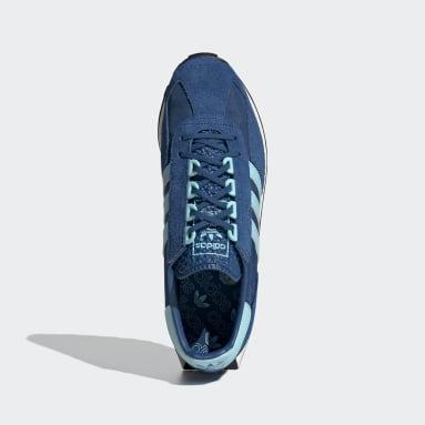 Chaussure Racing 1 Bleu Originals