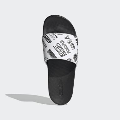 Sandale Adilette Comfort blanc Yoga