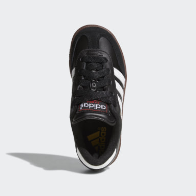 Children Soccer Black Samba Classic Shoes