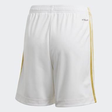 Short Domicile Juventus Blanc Enfants Football