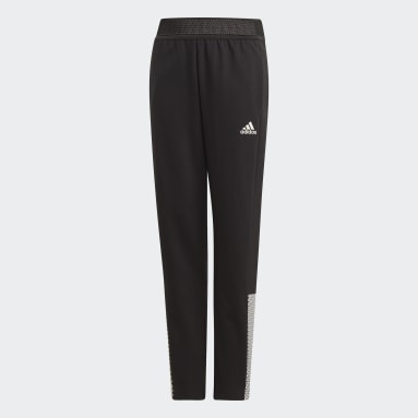 Girls Gym & Training Black ID Pants
