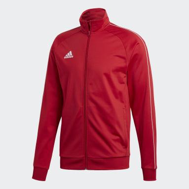 Men Gym & Training Red Core 18 Jacket