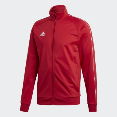 Men Gym & Training Red Core 18 Track Top