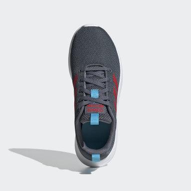 Zapatillas Lite Racer CLN Negro Niño Diseño Deportivo