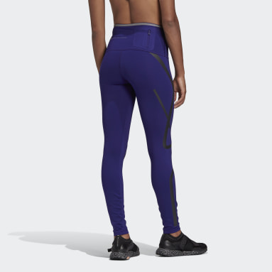 Women adidas by Stella McCartney Purple adidas by Stella McCartney TRUEPACE Long Leggings