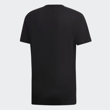 Remera Must Haves Badge of Sport Negro Hombre Diseño Deportivo