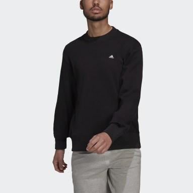 Men Sportswear Black adidas Sportswear Comfy & Chill Sweatshirt