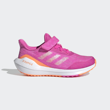 Çocuklar Koşu Pembe EQ21 Koşu Ayakkabısı