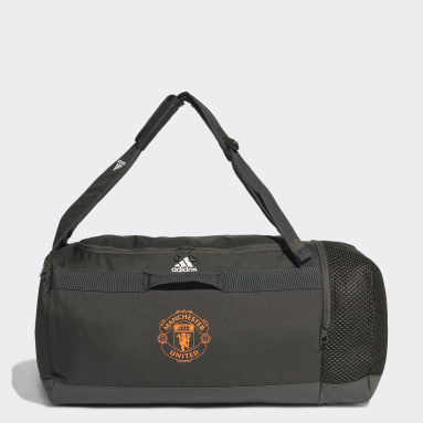Football Green Manchester United Duffel Bag Medium