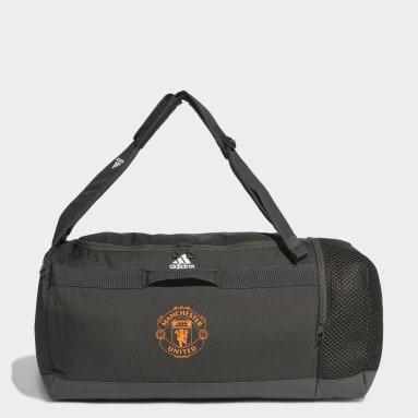 Fodbold Grøn Manchester United sportstaske, medium