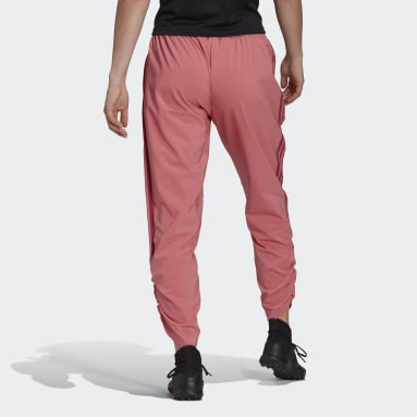 Pantalon Tiro Woven Ruched Rose Femmes Football