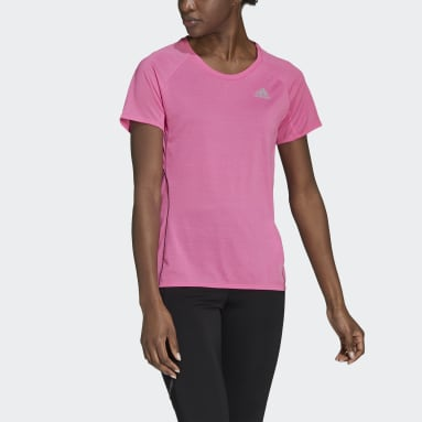 T-shirt Runner Rose Femmes Running
