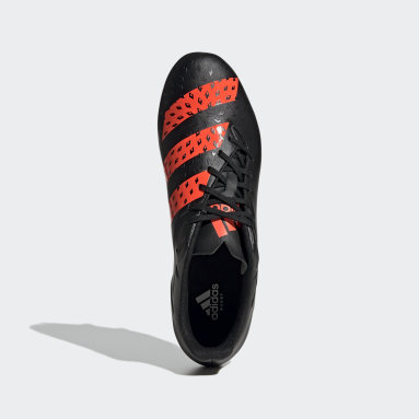 Rugby Black Malice SG Boots
