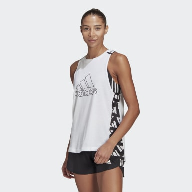 Women's Running White Own The Run Celebration Tank Top