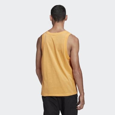 Men Originals Orange Trefoil Tank Top