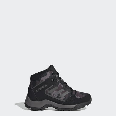 Kids TERREX Black Terrex Hyperhiker Hiking Shoes