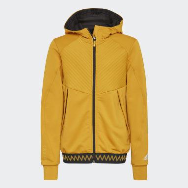 Veste à capuche COLD.RDY Full-Zip Or Enfants Sports D'hiver