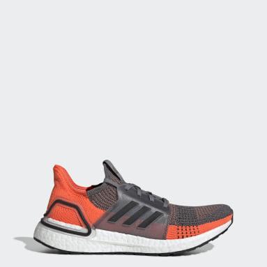 Men Running Grey Ultraboost 19 Shoes