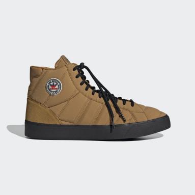 коричневый Высокие кроссовки Basket Profi