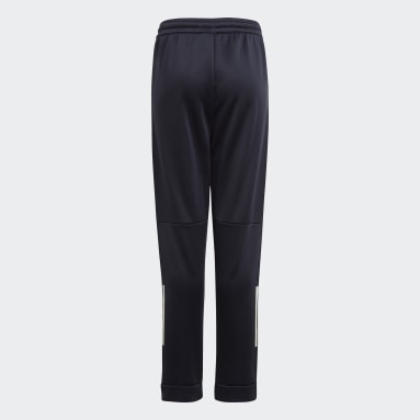Boys Gym & Training Blue Messi Football-Inspired Tapered Pants