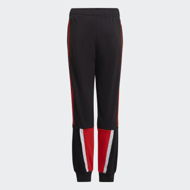 Boys Gym & Training Black Bold Pants