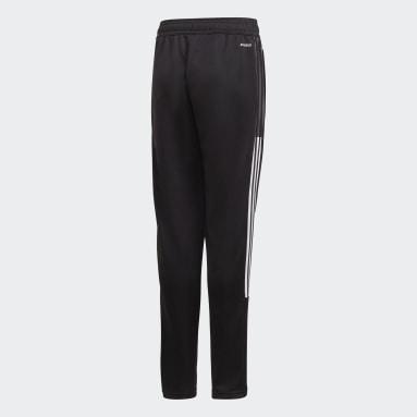 Děti Fotbal černá Sportovní kalhoty Tiro 21