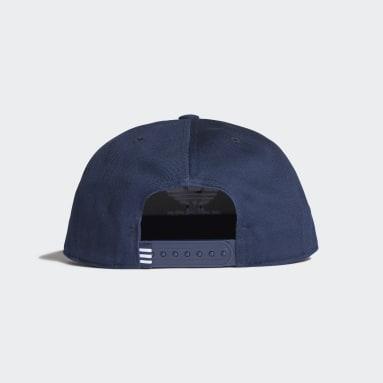 Originals Blue Snapback Trefoil Cap