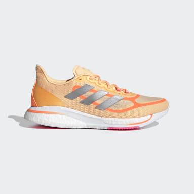 Dames Hardlopen Oranje Supernova+ Schoenen