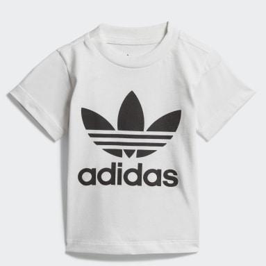 Camiseta Trefoil Branco Kids Originals