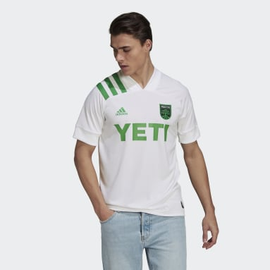 Men's Soccer White Austin FC 21/22 Away Jersey