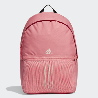 Lifestyle Pink Classic 3-Stripes Backpack