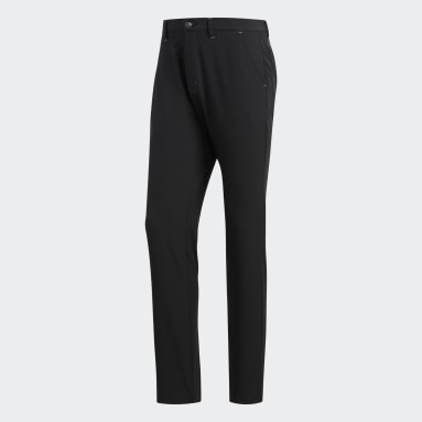 Men Golf Black Ultimate365 Tapered Pants