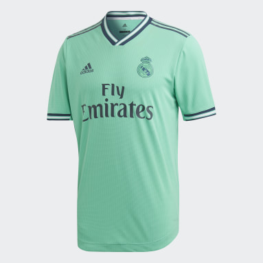 Camisa Real Madrid Authentic 3 Verde Homem Futebol