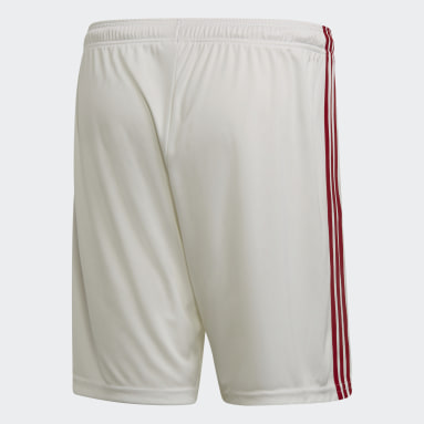 Shorts 1 CR Flamengo Branco Homem Futebol
