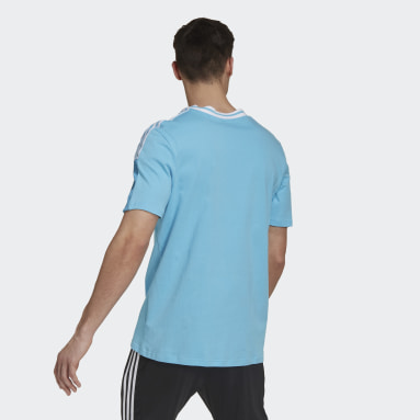 Men's Soccer Turquoise Real Madrid Tee