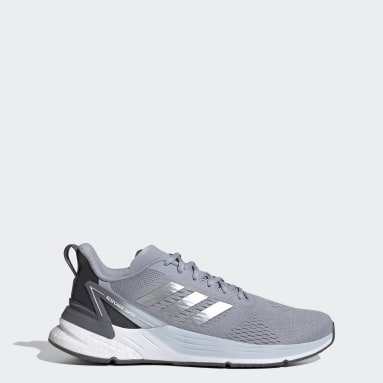Men's Running Grey Response Super Shoes