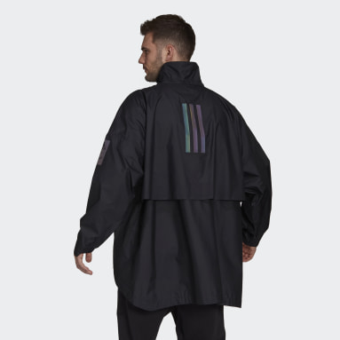Veste MYSHELTER Parley WIND.RDY Anorak Noir Hommes City Outdoor
