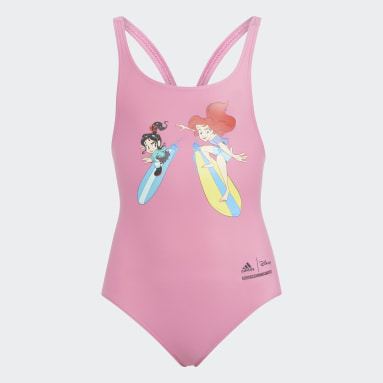 Meisjes Zwemmen Roze Disney Princess Badpak