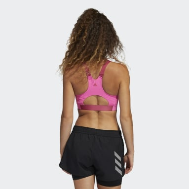 Women's Training Pink Ultimate Alpha adi Life Bra