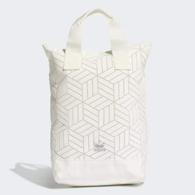 Mochila Roll-Top (UNISEX) Blanco Originals