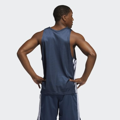 Men Basketball Blue Summer Legend Tank Top
