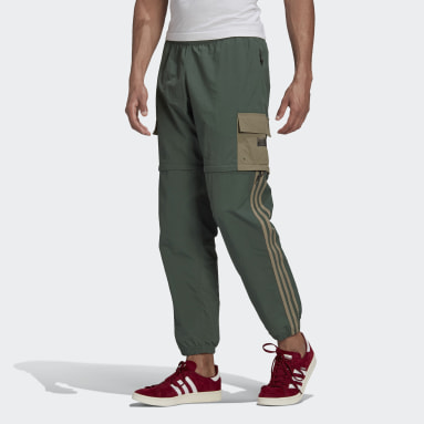 Men Originals Green R.Y.V. Utility 2-in-1 Tracksuit Bottoms