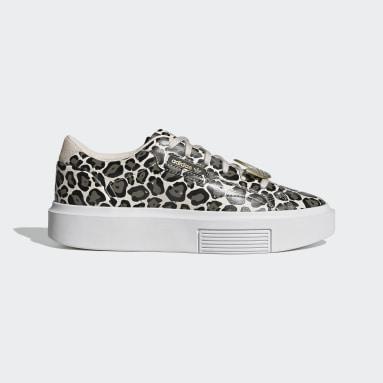 Dames Originals Beige adidas Sleek Super Schoenen
