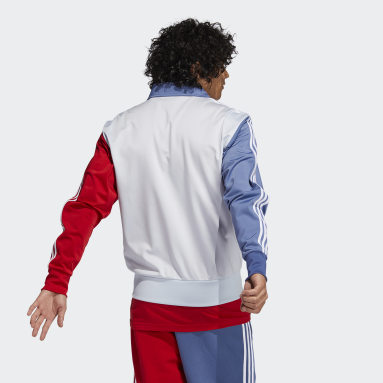Men's Originals Blue Blocked Firebird Track Jacket