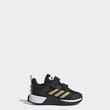 Kinder Running LEGO® adidas Sport Schuh Schwarz