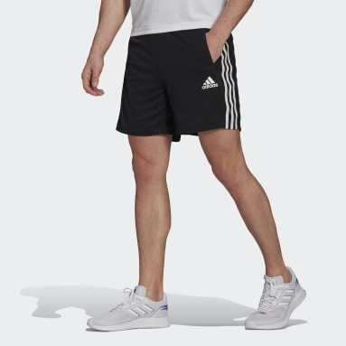 Men Training Black Primeblue Designed To Move Sport 3-Stripes Shorts