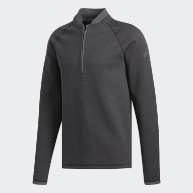 Men Golf Black Club Sweater