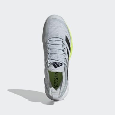 Tennis Adizero Ubersonic 4 Clay Schuh Weiß