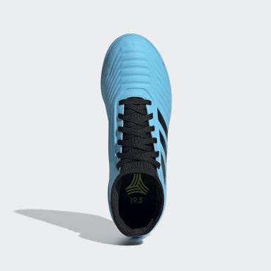 Calzado de Fútbol Predator Tango 19.3 Bajo Techo (UNISEX) Turquesa Niño Fútbol